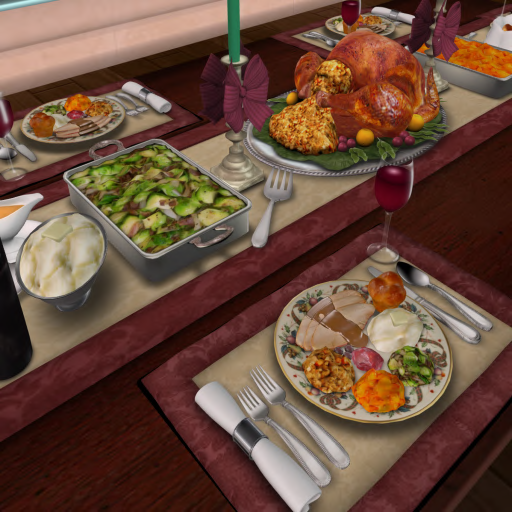 christmas ham dinner table - photo #20