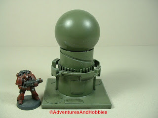 War game terrain industrial equipment for 25 to 28 mm scale miniature gaming.