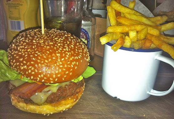 Gorilla Manchester - Burger