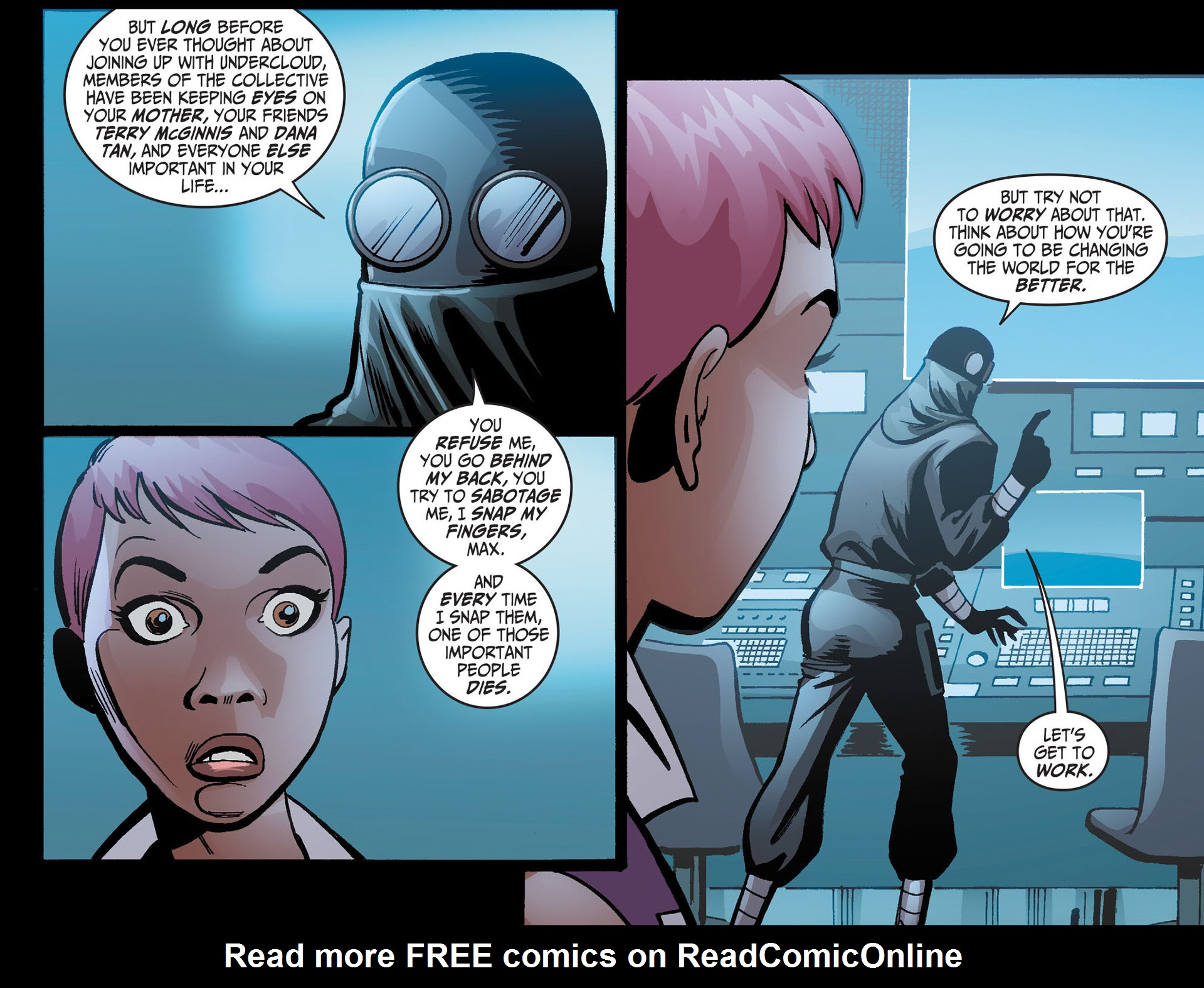 Batman Beyond (2012) Issue #21 #21 - English 16