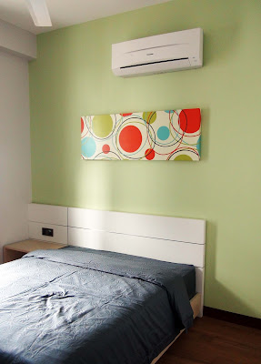 The Brezza bedroom canvas deco art