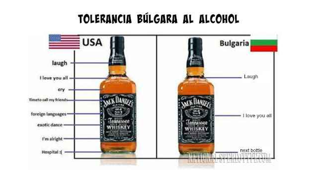 Tolerancia búlgara al alcohol
