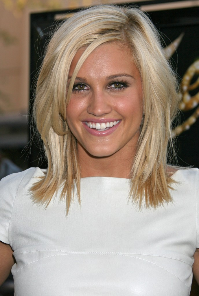 Medium Length Celebrity Hairstyles 2013 004