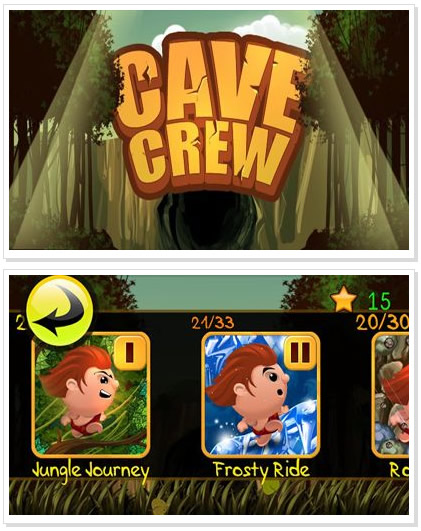 Android Game : Cave Crew