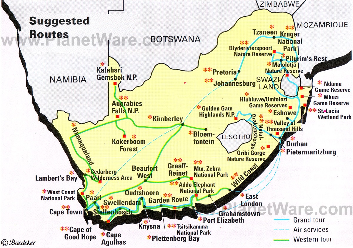 Charlie 39 s travel blog - Drive from port elizabeth to cape town ...