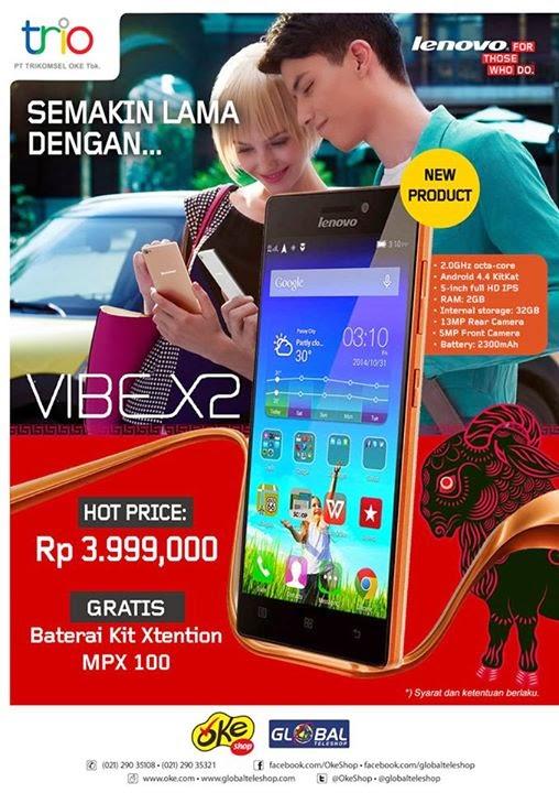 Beli Lenovo Vibe X2 Bonus Baterai Kit Xtention MPX 100