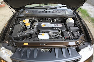new tata safari storme engine view