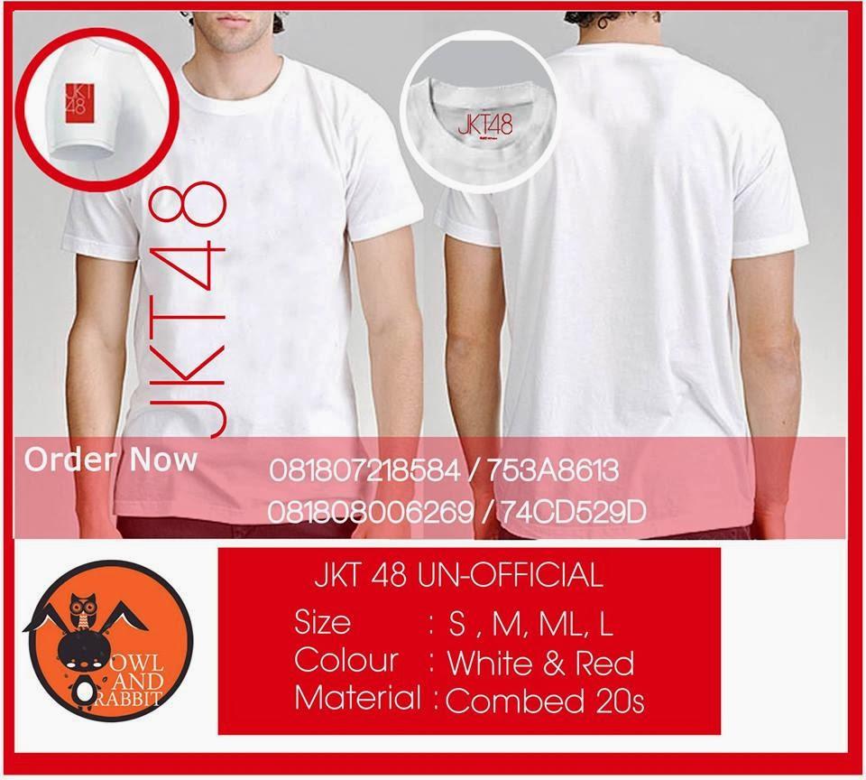 Desain t shirt jkt48 - Kembali Kami Buka Project Terbaru Dari Kami Jkt48 Tshirt Old Design Unofficial Batas Pemesanan Untuk Project Po6 Ini Sampai Akhir Februari 2014