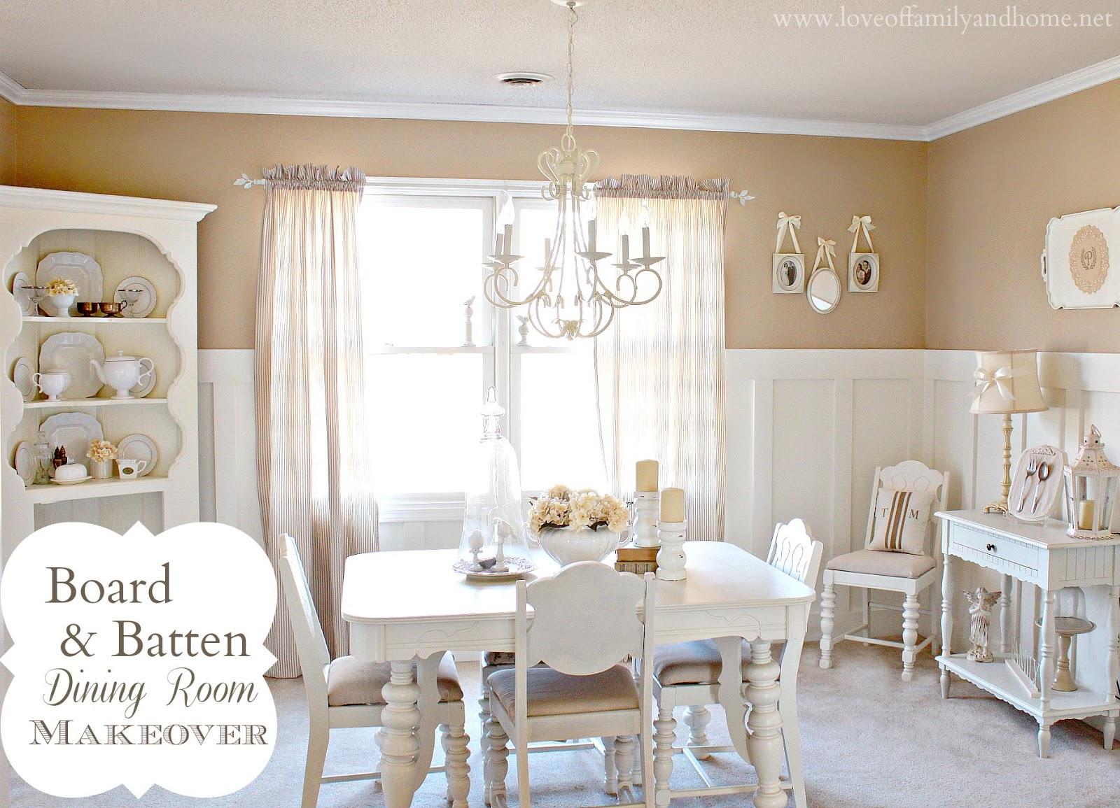 dining room makeover board batten dining room makeover love of family home
