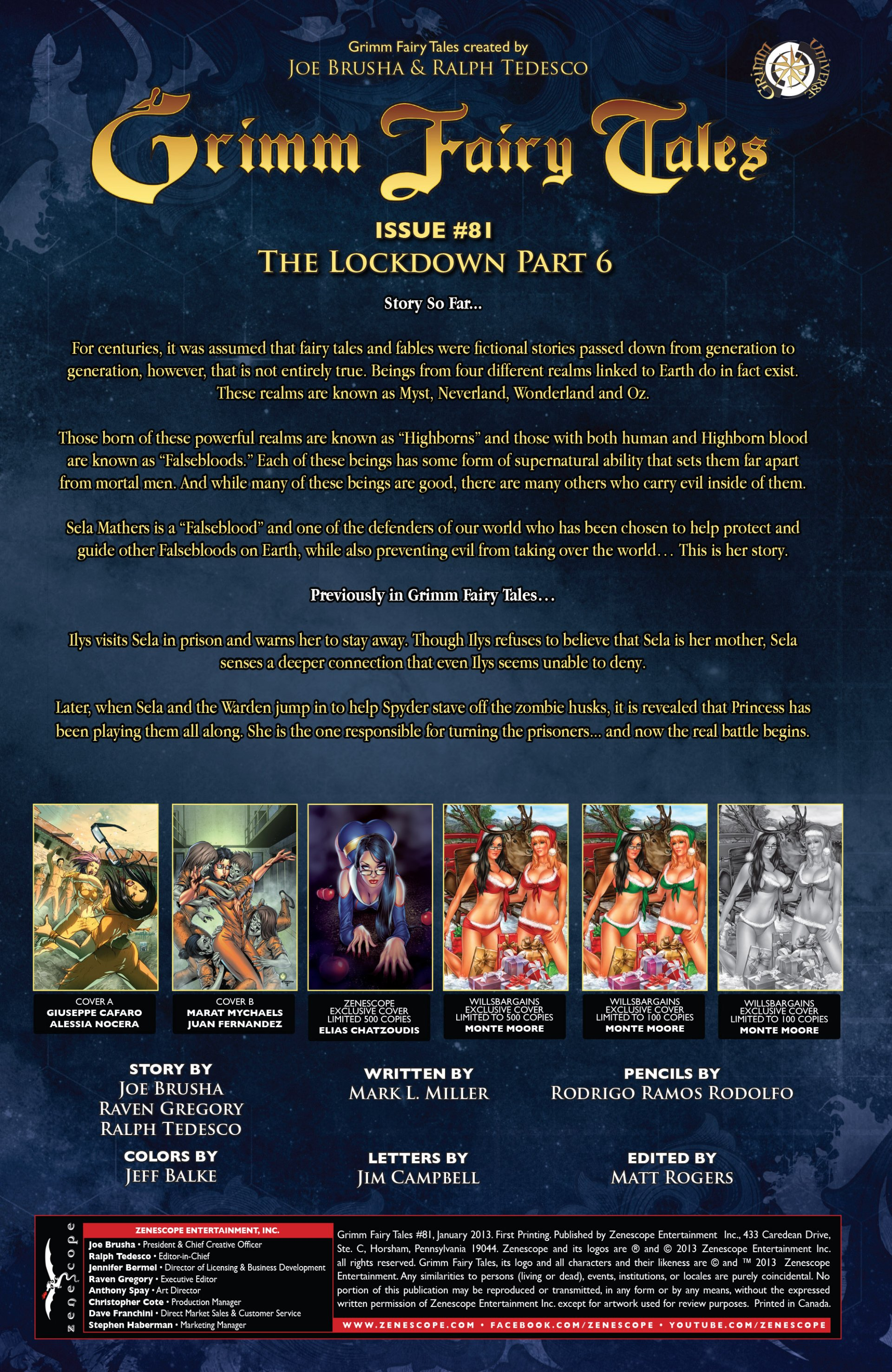 Grimm Fairy Tales (2005) Issue #81 #84 - English 2
