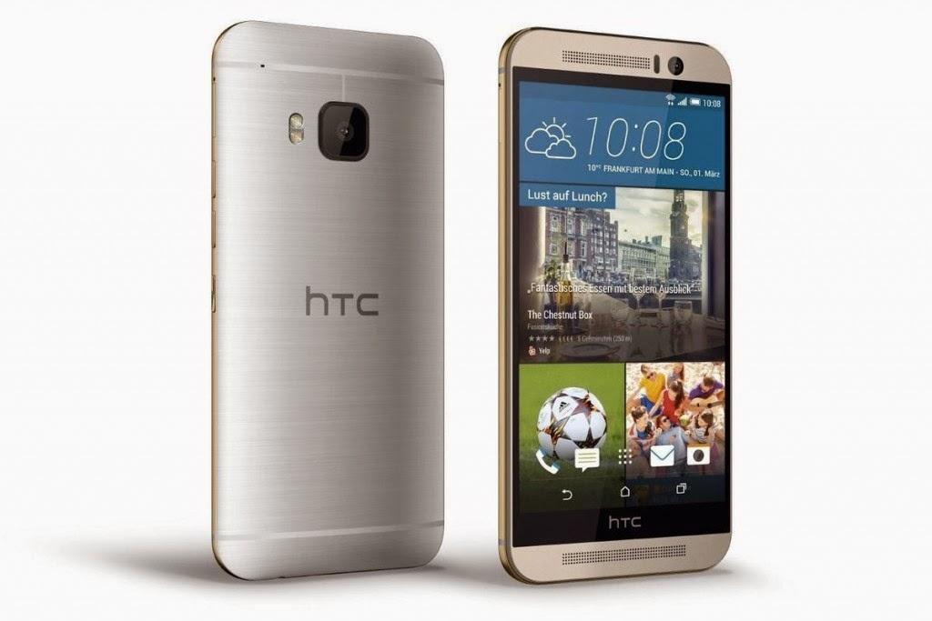 الخبير   طريقك إلى عالم التقنية ، هاتف HTC One M9 باللون الفضي والذهبي 2