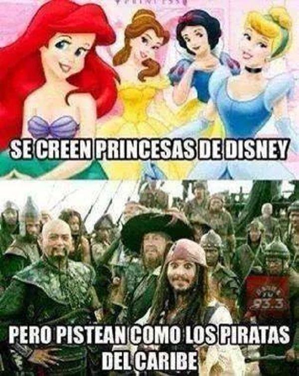 Se creen princesas