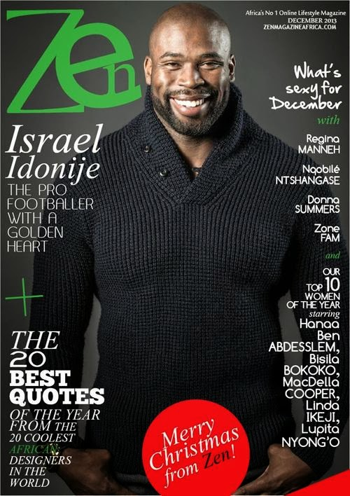 Nigerian NFL player Israel Idonije graces Zen Magazine
