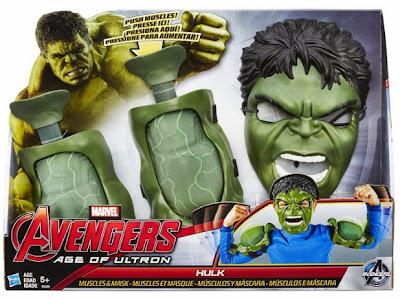 JUGUETES - MARVEL Los Vegandores La Era de Ultron  Hulk : Máscara y músculos  Producto Oficial Película 2015 | Hasbro B0428 | A partir de 5 años  Comprar en Amazon