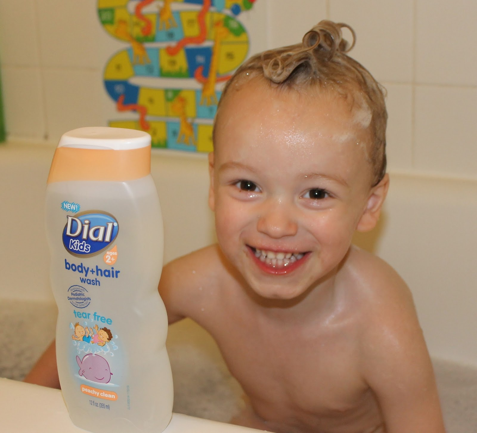 Dealy Os Product Reviews: Dial Kids Body + Hair Wash Review and Giveaway
