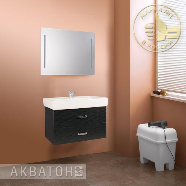 Новые цвета мебели Акватон Америна и Мадрид - Рифт белый и черный