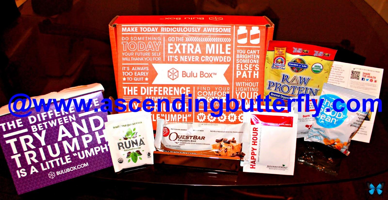Bulu Box, BULUGAN707, healthy snacks, vitamins and supplements