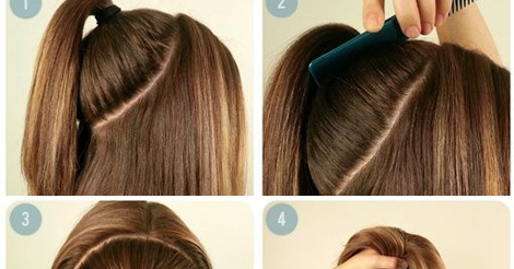 Perfect Summer Ponytail Hairstyle For Medium Hair Entertainment