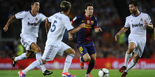 Prediksi Bola Real Madrid vs Barcelona leg 2 - 30 Agustus 2012