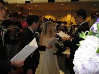 Cindy and David's church wedding at Pantai Baptist Church PJ