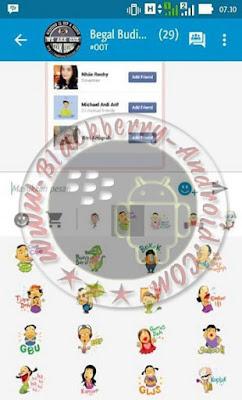BBM MOD VERSI 2.9.0.51 FREE STICKER TERBARU