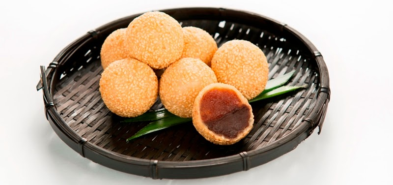 Sesame Ball, Nian Gao, Red Bean Paste, CNY 2015, Tai Thong Spring Reunion, Food Review, Chinese Food, Tai Thong Group