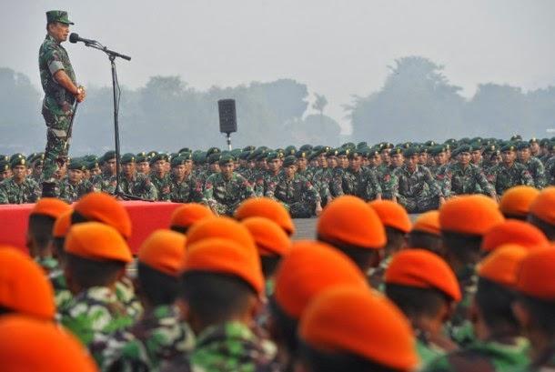 Kiblat Prajurit Hanya Satu, Panglima TNI