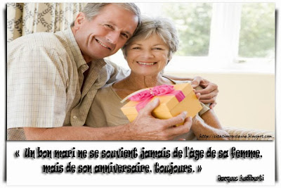 Citation d'anniversaire - Citation sur vie