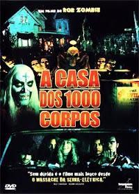 Filme A Casa dos 1000 Corpos Dublado AVI DVDRip