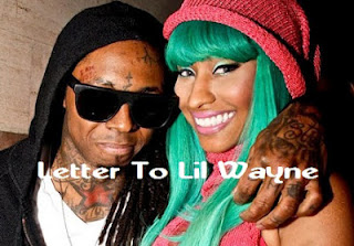 Nicki Minaj Letter To Lil Wayne Lyrics