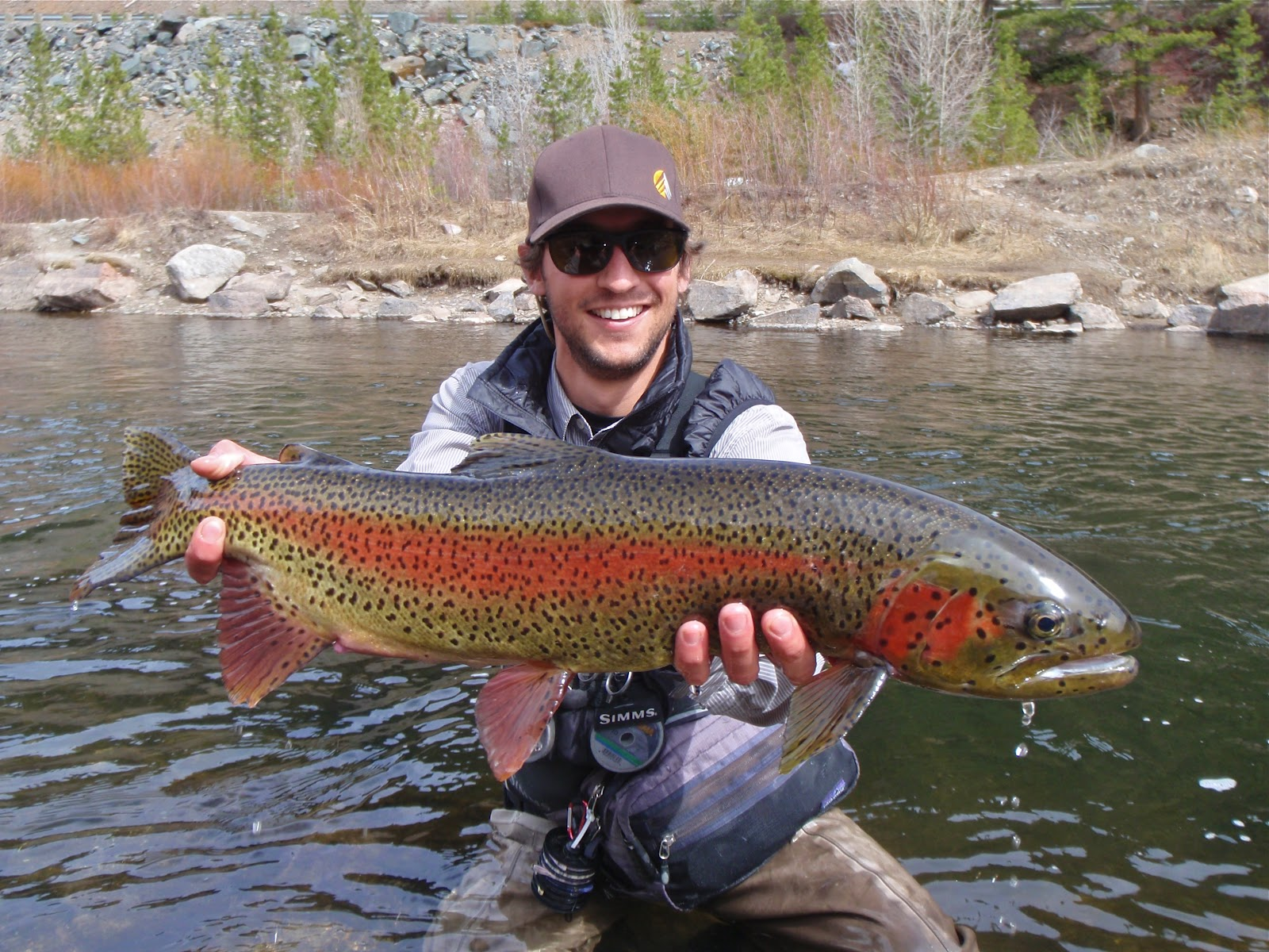 Colorado fly fishing reports a tale from the taylor river for Colorado river fly fishing