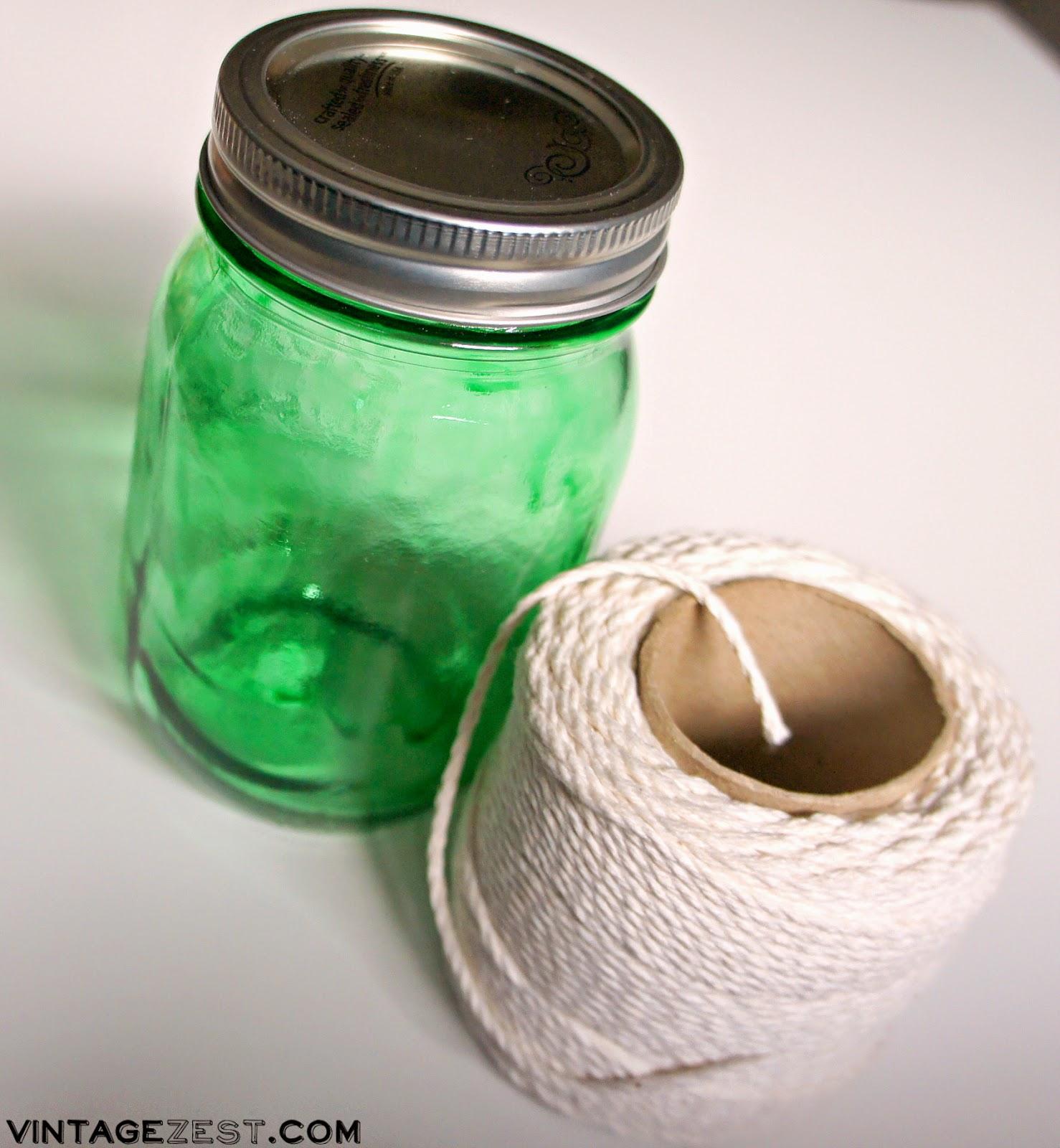 """Nautical-Inspired """"Odds  Ends"""" Mason Jars ~ Dianes Vintage Zest!"""