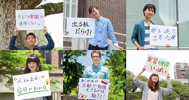 Sinh viên Trường đại học Kyoto Nhật Bản