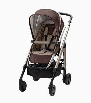 marrón silla de bebé new loola