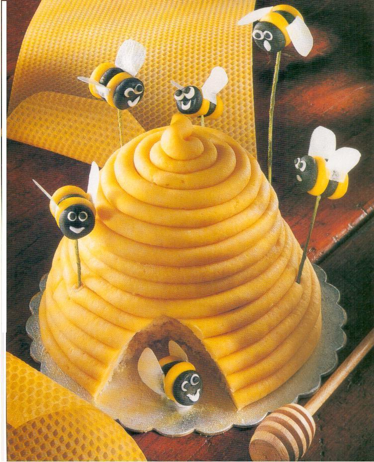 kochen das bienenhaus kuchen zu ostern kindergeburtstag. Black Bedroom Furniture Sets. Home Design Ideas