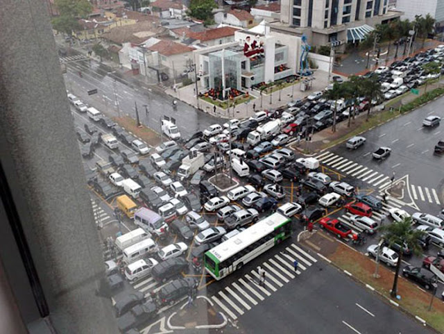 Traffic System Failed - What happened Next?