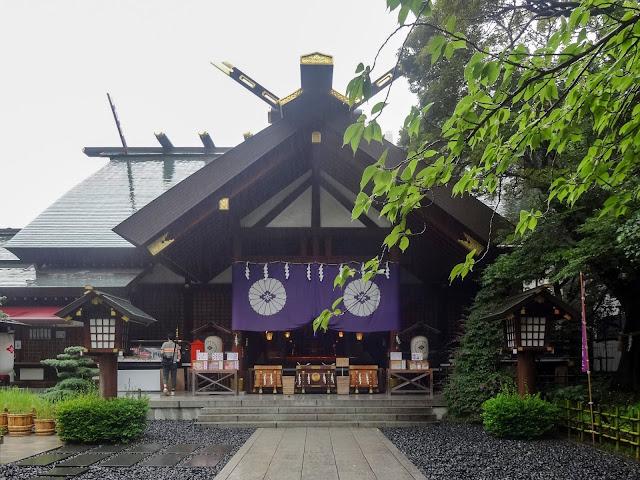 東京大神宮,本殿,飯田橋〈著作権フリー無料画像〉Free Stock Photos