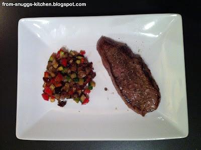 Ratatouille mit Steak