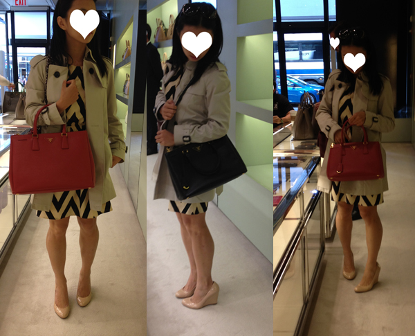 Camel Bag Hunt Part III : Prada Saffiano Lux Tote - Fast Food ...