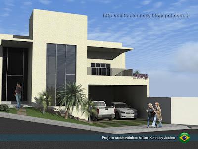 Projeto Arquitetônico - Milton Kennedy