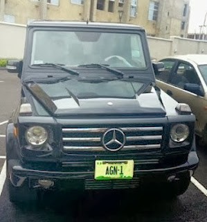 IBINABO FIBERESIMA, ACTORS GUILD PRESIDENT ACQUIRES G WAGON; RELEASES NEW PHOTOS