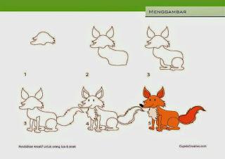 30 Cara Menggambar Kartun Mudah dan Cepat - Armaila.com