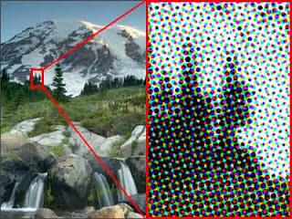 puntos por pulgadas imagen