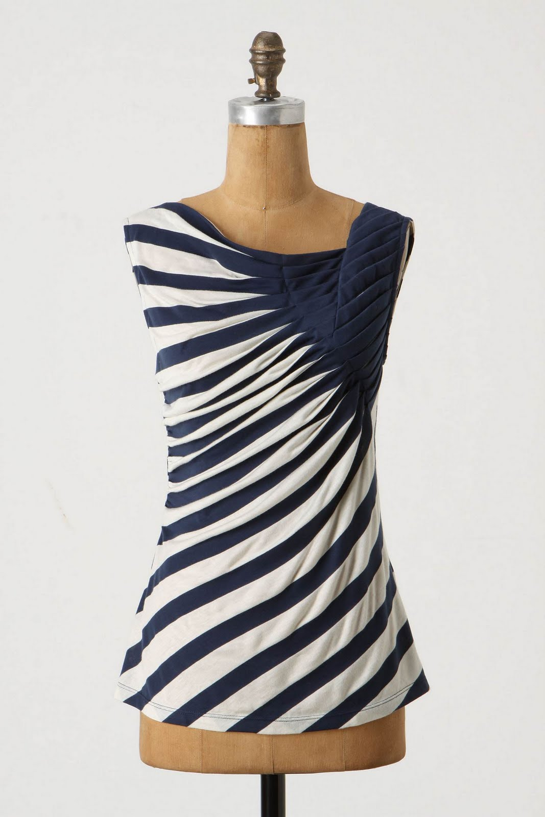 navy blue white striped skirt diy is beautiful