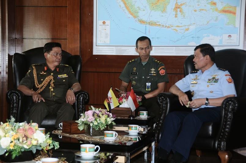Angkatan Darat Brunei Minta Dukungan TNI
