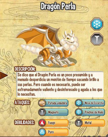Dragon Perla  caracteristicas