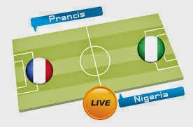 Perkiraan Hasil Akhir Pertandingan Babak 16 Besar Piala Dunia 30/06/2014 : Prancis Vs Nigeria