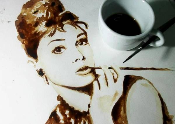 الرسم بمشروب القهوة Coffee Paintings image033-791607.jpg