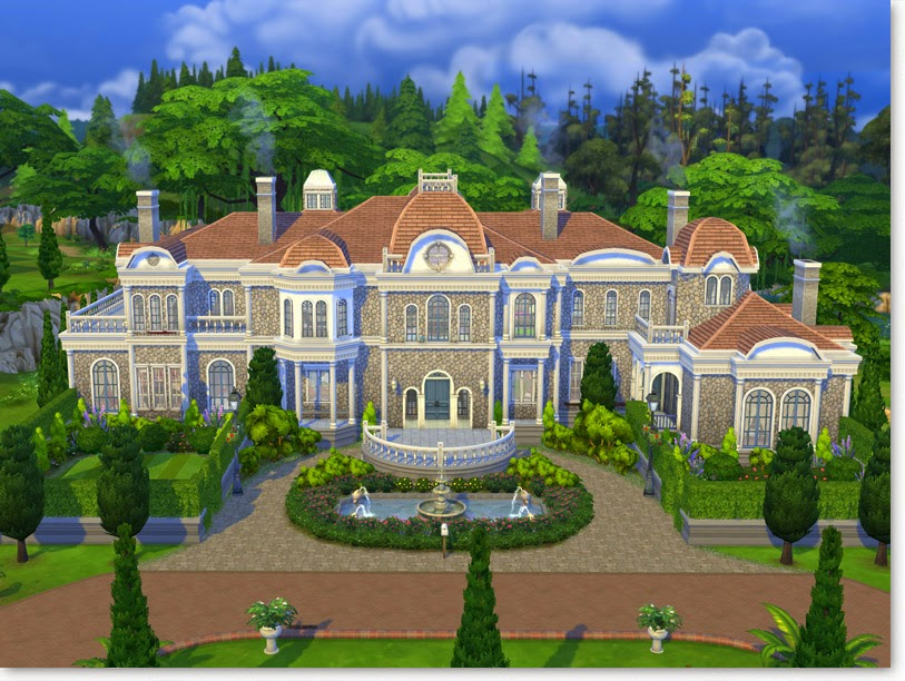 Why Plumbobs Are Green Villa Perle Elegant TS4 Mansion