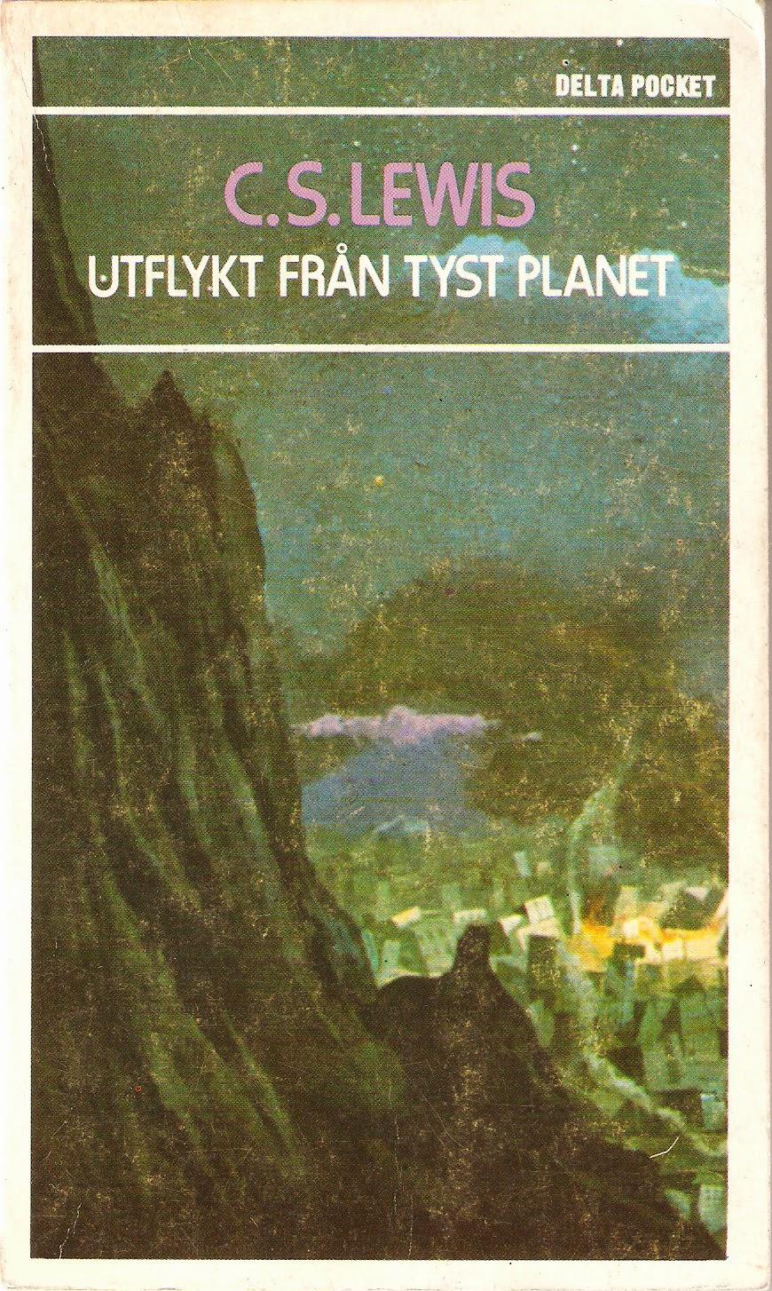 C. S. Lewis - Utflykt från tyst planet bokpärm